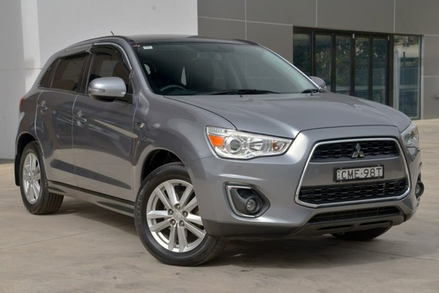 Used Mitsubishi ASX XA MY12 Aspire, 2012 Mitsubishi ASX XA MY12 Aspire Grey 6 Speed Constant Variable Wagon