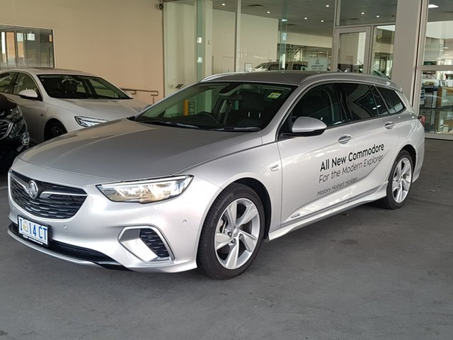 Demo Holden Commodore ZB MY18 RS-V Sportwagon AWD, 2018 Holden Commodore ZB MY18 RS-V Sportwagon AWD Nitrate 9 Speed Sports Automatic Wagon
