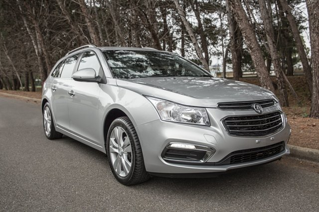 Used Holden Cruze JH Series II MY16 CDX Sportwagon, 2016 Holden Cruze JH Series II MY16 CDX Sportwagon Silver 6 Speed Sports Automatic Wagon