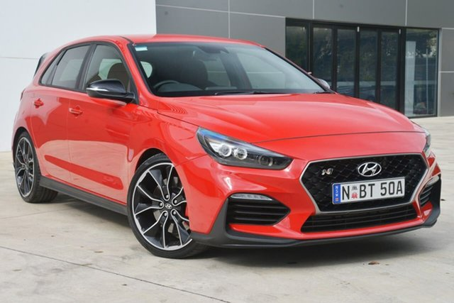 Used Hyundai i30 PDe MY18 N Performance, 2017 Hyundai i30 PDe MY18 N Performance Red 6 Speed Manual Hatchback