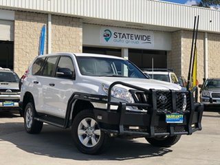 2015 Toyota Landcruiser Prado GDJ150R GX White 6 Speed Sports Automatic Wagon.