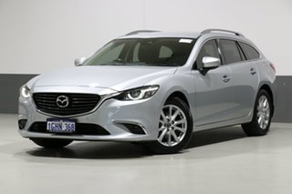 2017 Mazda 6 6C MY17 (gl) Touring Silver 6 Speed Automatic Wagon.