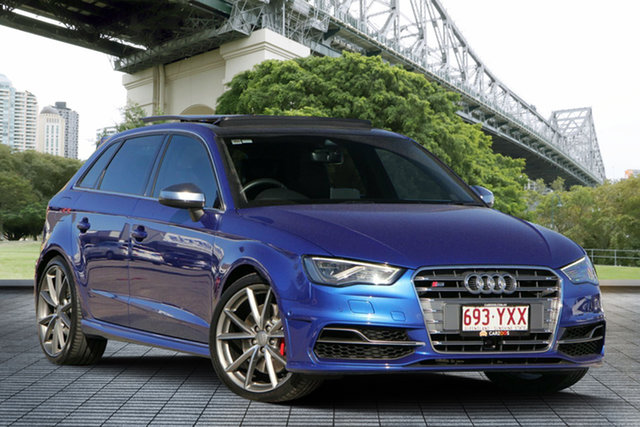 Used Audi S3 8V MY16 Sportback S Tronic Quattro, 2016 Audi S3 8V MY16 Sportback S Tronic Quattro Blue 6 Speed Sports Automatic Dual Clutch Hatchback