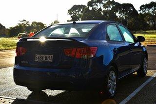 2011 Kia Cerato TD MY11 S Blue 6 Speed Sports Automatic Sedan.