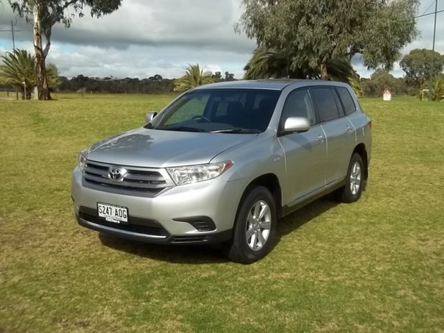 Used Toyota Kluger GSU45R MY11 KX-R AWD, 2011 Toyota Kluger GSU45R MY11 KX-R AWD 5 Speed Sports Automatic Wagon