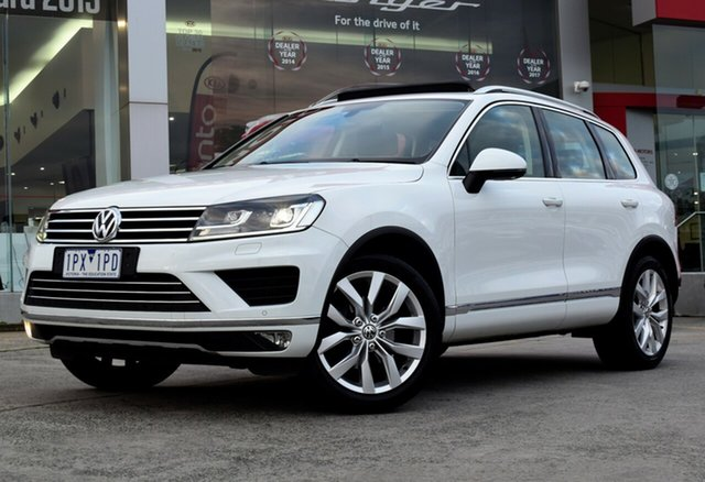 Used Volkswagen Touareg 7P MY16 V6 TDI Tiptronic 4MOTION, 2016 Volkswagen Touareg 7P MY16 V6 TDI Tiptronic 4MOTION White 8 Speed Sports Automatic Wagon
