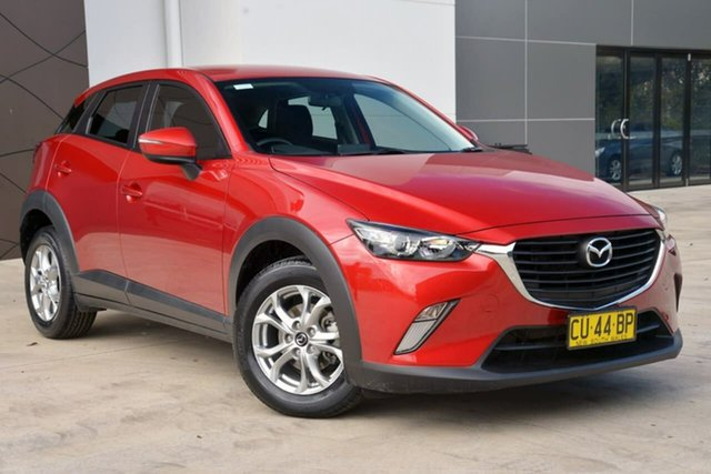 Used Mazda CX-3 DK2W7A Maxx SKYACTIV-Drive, 2015 Mazda CX-3 DK2W7A Maxx SKYACTIV-Drive Red 6 Speed Sports Automatic Wagon