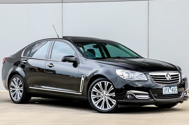Used Holden Calais VF MY15 V, 2014 Holden Calais VF MY15 V Phantom Black 6 Speed Sports Automatic Sedan