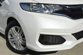 2020 Honda Jazz GF MY21 VTi Platinum White 1 Speed Constant Variable Hatchback.