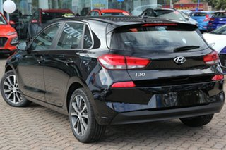 2019 Hyundai i30 PD2 MY19 Elite Phantom Black 6 Speed Sports Automatic Hatchback.