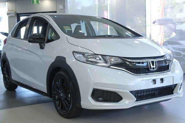 Demo Honda Jazz GF MY20 50 Years Edition, 2019 Honda Jazz GF MY20 50 Years Edition Platinum White 1 Speed Constant Variable Hatchback