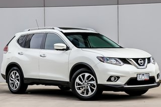 2015 Nissan X-Trail T32 Ti X-tronic 4WD Ivory Pearl 7 Speed Constant Variable Wagon.