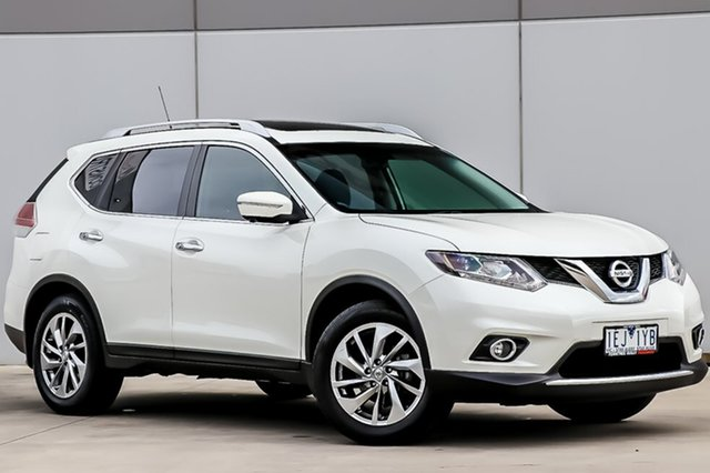 Used Nissan X-Trail T32 Ti X-tronic 4WD, 2015 Nissan X-Trail T32 Ti X-tronic 4WD Ivory Pearl 7 Speed Constant Variable Wagon