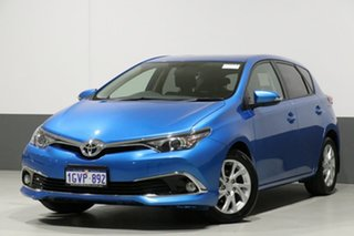 2017 Toyota Corolla ZRE182R MY15 Ascent Sport Blue 7 Speed CVT Auto Sequential Hatchback.