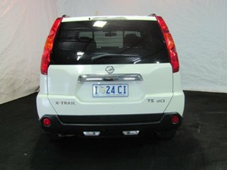 2010 Nissan X-Trail T31 MY10 TS White 6 Speed Manual Wagon