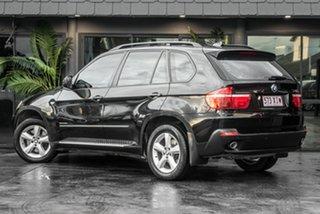 2008 BMW X5 E70 MY09 xDrive30d Steptronic Black 6 Speed Sports Automatic Wagon.