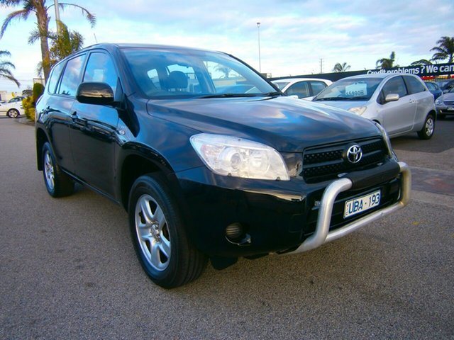 Used Toyota RAV4 ACA33R CV, 2006 Toyota RAV4 ACA33R CV Black 4 Speed Automatic Wagon