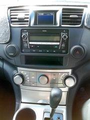 2011 Toyota Kluger GSU45R MY11 KX-R AWD Silver 5 Speed Sports Automatic Wagon