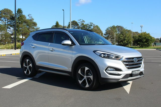 Used Hyundai Tucson TLe MY17 Highlander AWD, 2016 Hyundai Tucson TLe MY17 Highlander AWD Silver 6 Speed Sports Automatic Wagon