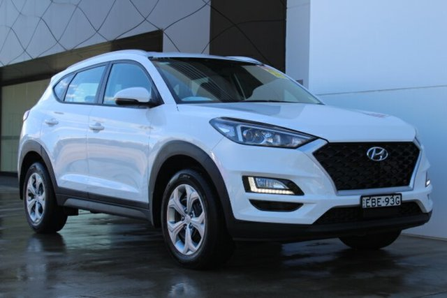 Demo Hyundai Tucson TL3 MY19 Go AWD, 2018 Hyundai Tucson TL3 MY19 Go AWD Pure White 8 Speed Sports Automatic Wagon