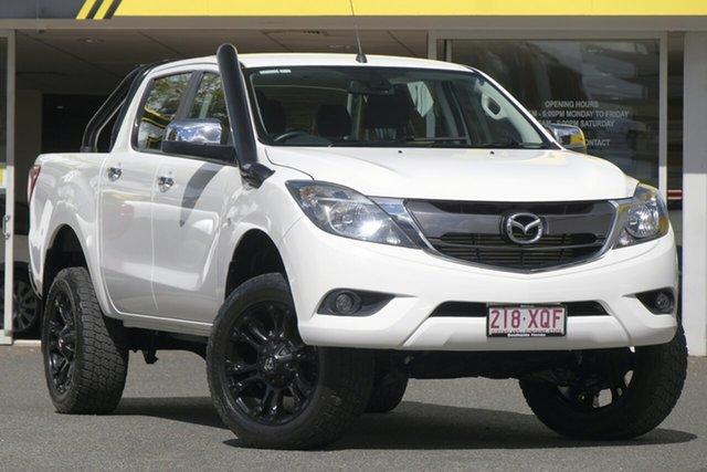 Used Mazda BT-50 UR0YG1 XTR, 2017 Mazda BT-50 UR0YG1 XTR White 6 Speed Sports Automatic Utility