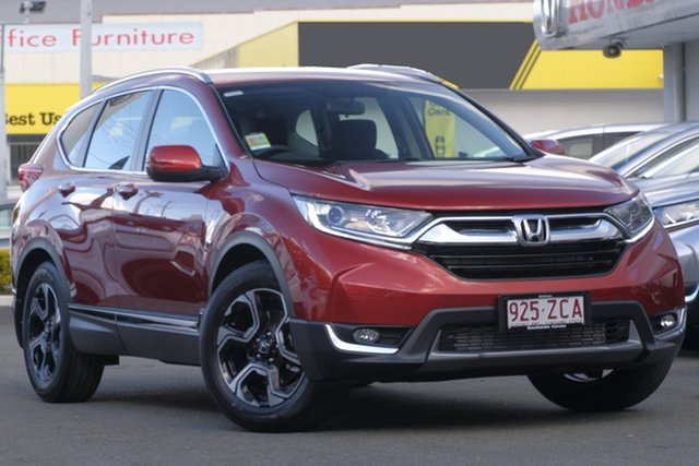 Demo Honda CR-V RW MY19 VTi-S FWD, 2019 Honda CR-V RW MY19 VTi-S FWD Passion Red 1 Speed Constant Variable Wagon