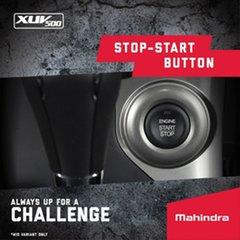 2019 Mahindra XUV500 W10 (FWD) Volcano Black 6 Speed Automatic Wagon
