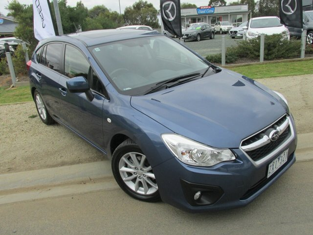 Used Subaru Impreza G4 MY14 2.0i-L Lineartronic AWD, 2013 Subaru Impreza G4 MY14 2.0i-L Lineartronic AWD Blue 6 Speed Constant Variable Hatchback