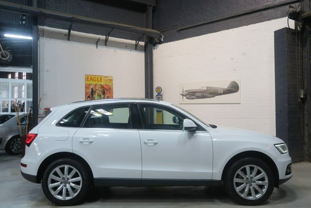 Used Audi Q5 8R MY13 TDI S Tronic Quattro, 2013 Audi Q5 8R MY13 TDI S Tronic Quattro White 7 Speed Sports Automatic Dual Clutch Wagon