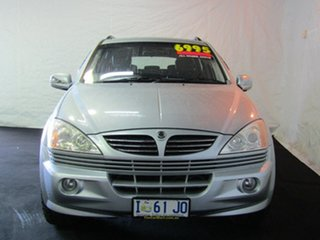 2006 Ssangyong Kyron D100 M320 Silver 5 Speed Sports Automatic Wagon.