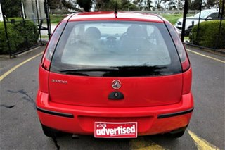 2005 Holden Barina XC MY05 Red 4 Speed Automatic Hatchback