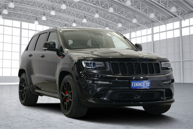 Used Jeep Grand Cherokee WK MY16 SRT Night Edition, 2016 Jeep Grand Cherokee WK MY16 SRT Night Edition Black 8 Speed Sports Automatic Wagon