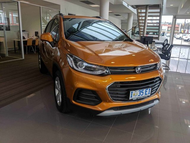 Demo Holden Trax TJ MY18 LS, 2018 Holden Trax TJ MY18 LS Burning Hot 6 Speed Automatic Wagon