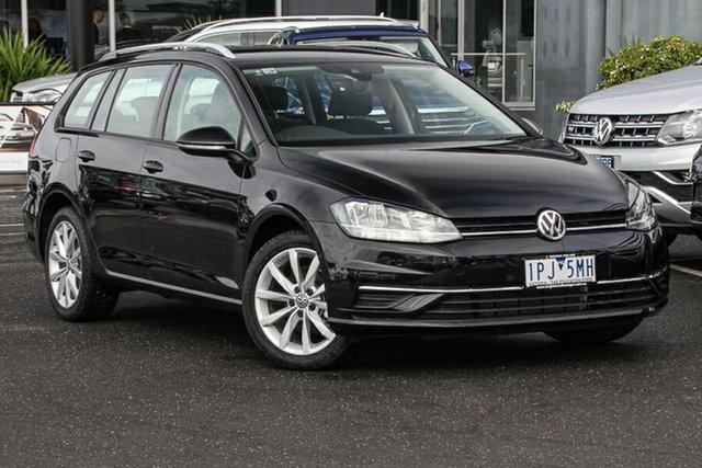 Demo Volkswagen Golf 7.5 MY18 110TSI DSG Comfortline, 2018 Volkswagen Golf 7.5 MY18 110TSI DSG Comfortline Deep Black Pearl Effect 7 Speed