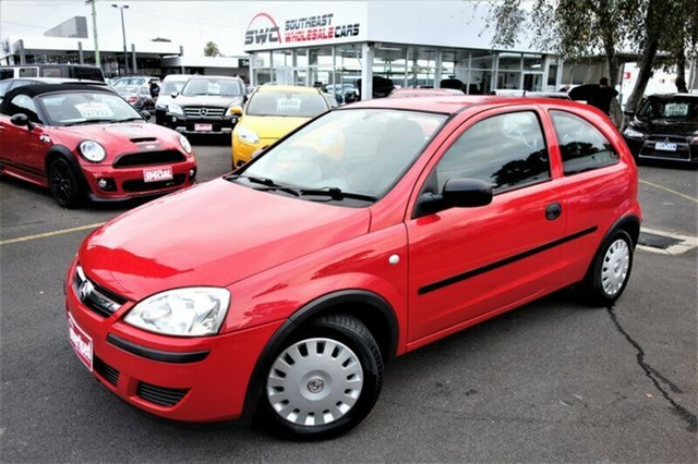 Used Holden Barina XC MY05 , 2005 Holden Barina XC MY05 Red 4 Speed Automatic Hatchback