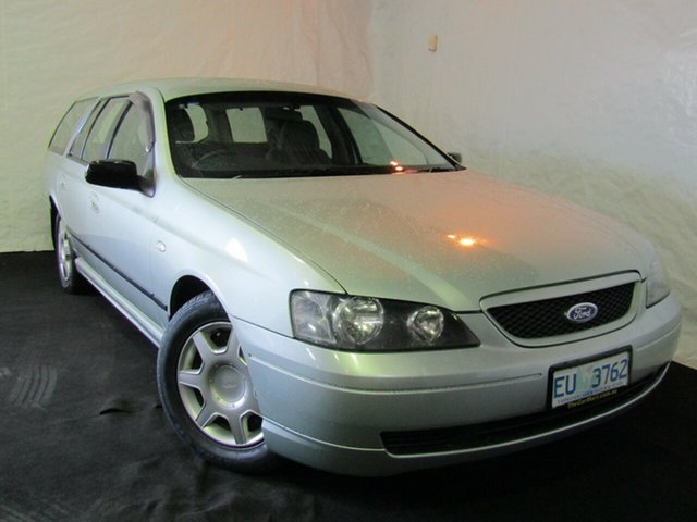 Used Ford Falcon BA XT, 2003 Ford Falcon BA XT Gold 4 Speed Sports Automatic Wagon
