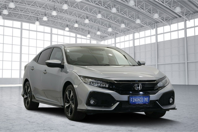Used Honda Civic 10th Gen MY17 RS, 2017 Honda Civic 10th Gen MY17 RS Chrome 1 Speed Constant Variable Hatchback