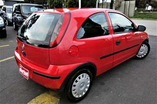 2005 Holden Barina XC MY05 Red 4 Speed Automatic Hatchback.