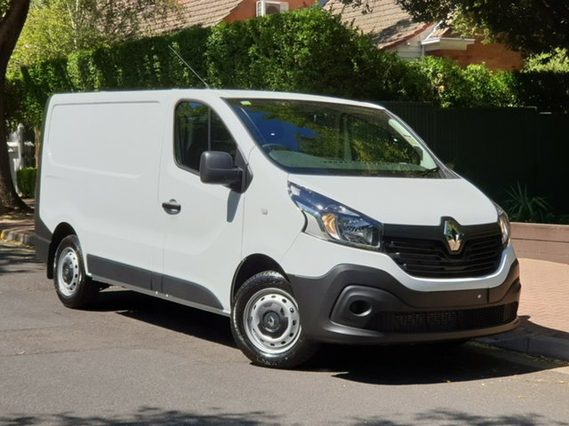 Demo Renault Trafic X82 Trader Life Low Roof SWB, 2018 Renault Trafic X82 Trader Life Low Roof SWB Glacier White 6 Speed Manual Van