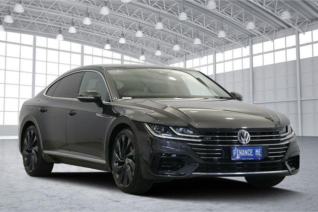 Used Volkswagen Arteon 3H MY19 206TSI Sedan DSG 4MOTION R-Line, 2018 Volkswagen Arteon 3H MY19 206TSI Sedan DSG 4MOTION R-Line Manganese Grey Metallic 7 Speed