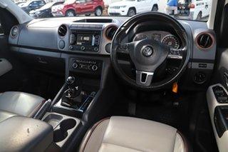 2014 Volkswagen Amarok 2H MY14 TDI400 4MOT Canyon White 6 Speed Manual Utility