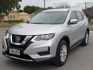 2017 Nissan X-Trail T32 Series II ST X-tronic 2WD Brilliant Silver 7 Speed Constant Variable Wagon.