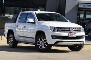 2014 Volkswagen Amarok 2H MY14 TDI400 4MOT Canyon White 6 Speed Manual Utility.