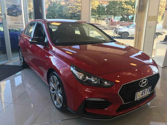 Demo Hyundai i30 PD.3 MY19 N Line, 2019 Hyundai i30 PD.3 MY19 N Line Lava Orange 6 Speed Manual Hatchback