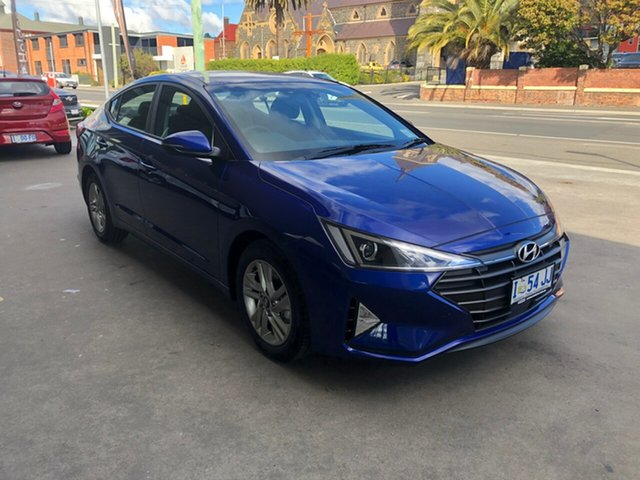 Demo Hyundai Elantra AD.2 MY19 Active, 2018 Hyundai Elantra AD.2 MY19 Active Intense Blue 6 Speed Sports Automatic Sedan