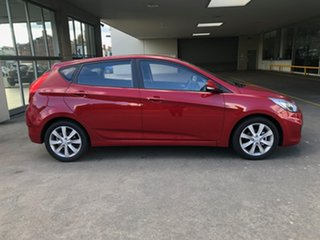 2019 Hyundai Accent RB6 MY19 Sport Pulse Red 6 Speed Sports Automatic Hatchback.