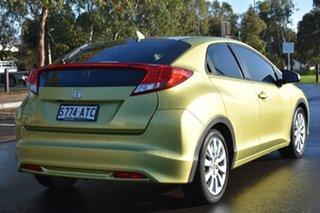 2012 Honda Civic 9th Gen VTi-S Lime Green 5 Speed Sports Automatic Hatchback