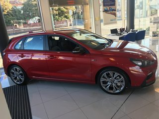 2019 Hyundai i30 PD.3 MY19 N Line Lava Orange 6 Speed Manual Hatchback.
