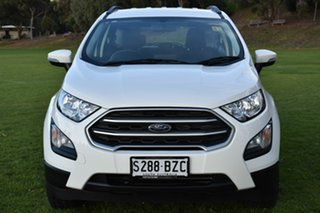 2018 Ford Ecosport BL Trend Diamond White 6 Speed Automatic Wagon