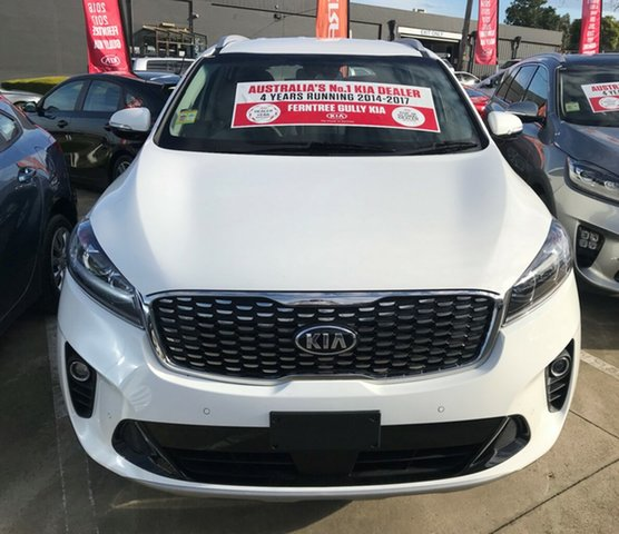 New Kia Sorento UM MY19 SI, 2019 Kia Sorento UM MY19 SI Clear White 8 Speed Sports Automatic Wagon